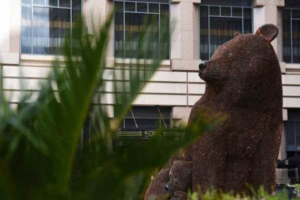 'Mamma Penny Bear' Sculpture in Downtown San Jose Made ...