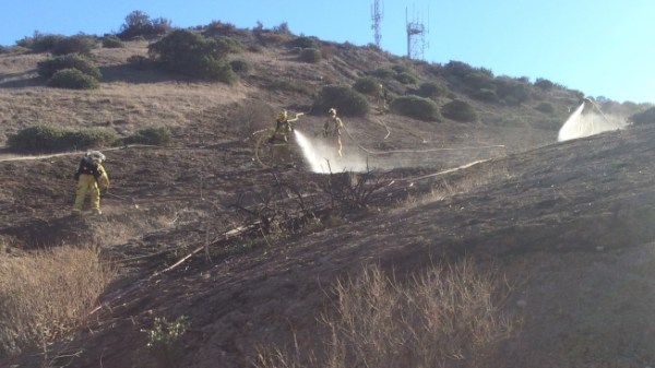 Construction Workers Spark Small Otay Mesa Brush Fire: FD ...