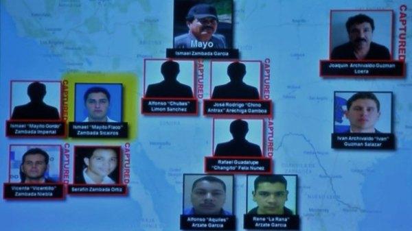 "Sinaloa Cartel Leader ""El Mayo,"" Sons Named in U.S ..."