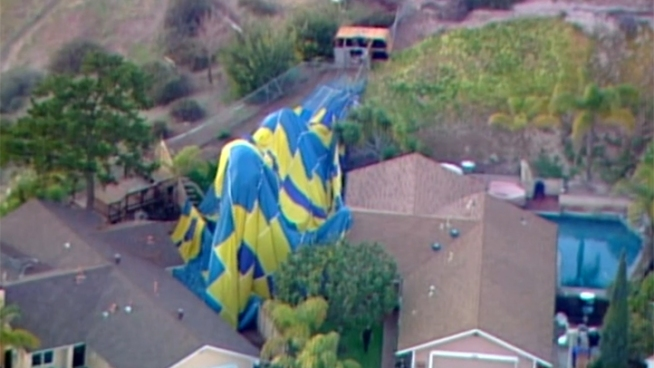 Wedding Interrupted by Hot Air Balloon Crash