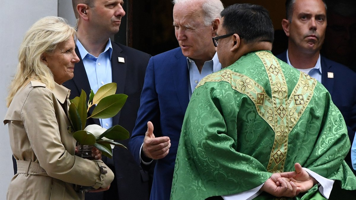 Local Catholics Respond to Proposal That Would Deny Communion to President Biden