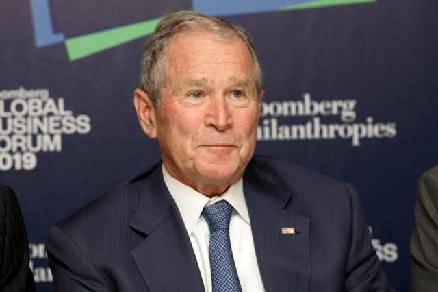 Ex-President George W. Bush Backs Maine's Sen. Susan Collins – NECN