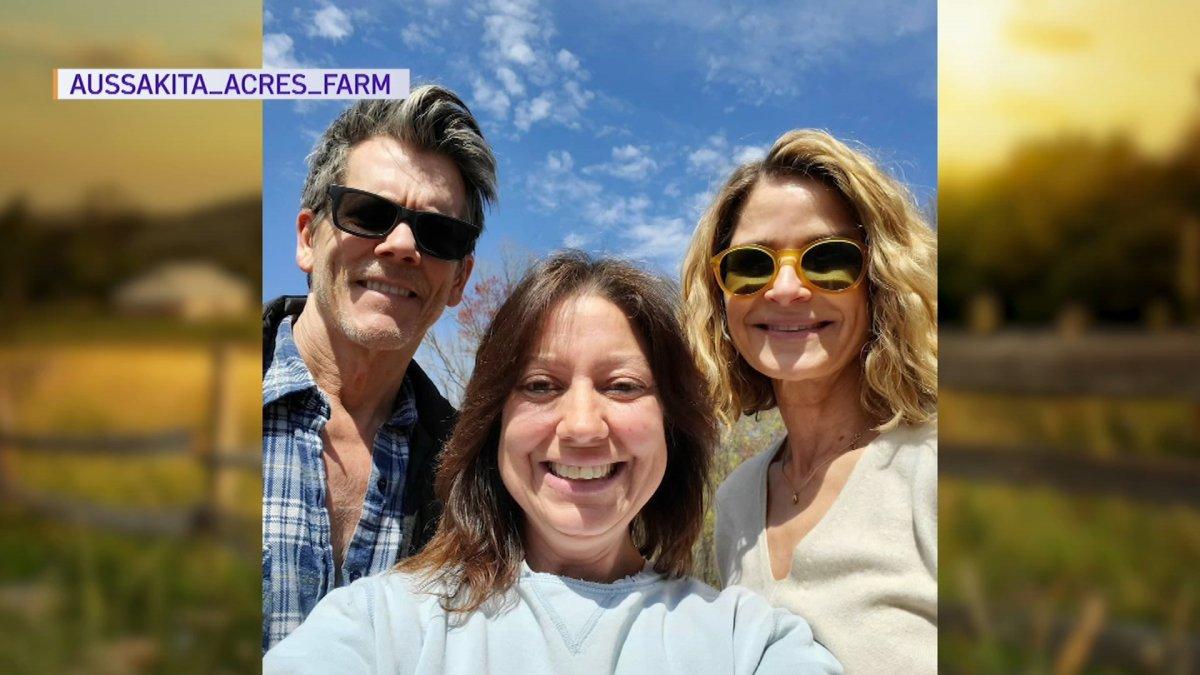 Kevin Bacon and Kyra Sedgwick Visit Conn. Farm
