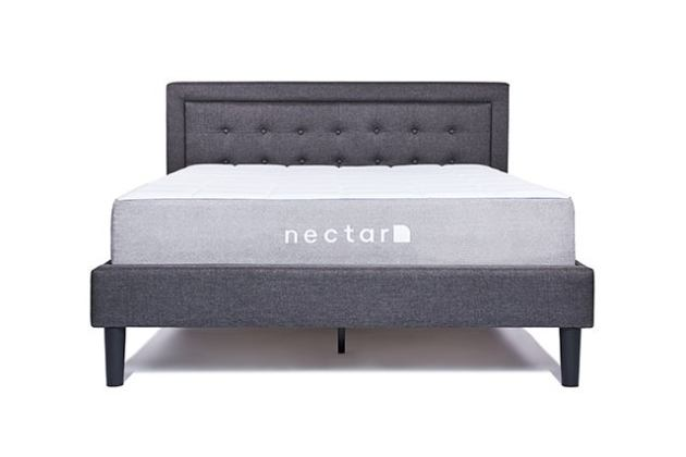 Nectar's Queen Bed Frame With Headboard