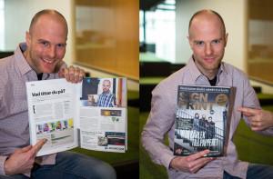 Intervju med Jason McMillion i tidningen Sign&Print
