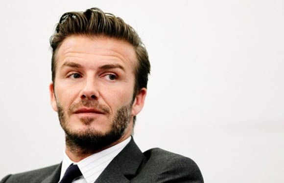 Famous Celebrity Hair Transplants - David Beckham