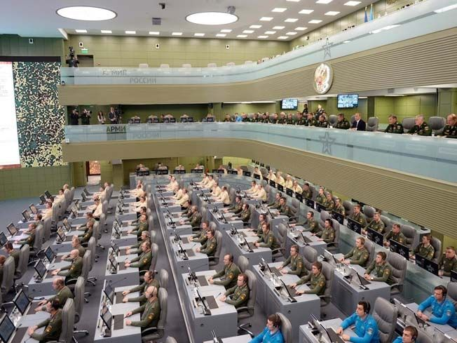 Vladimir Putin's New Mammoth Sized War Room Says Russia's Prepared For World War III
