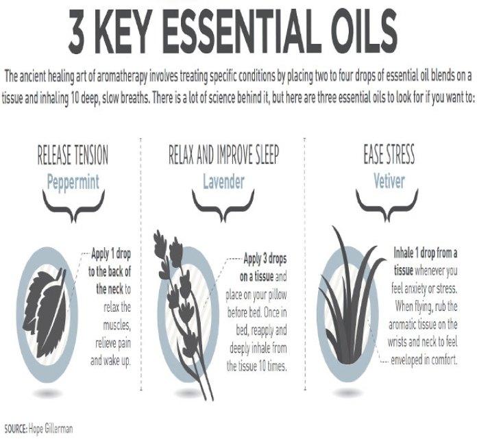 3 Key Essential Oils