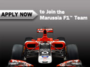 Join the Marussia F1™ Team