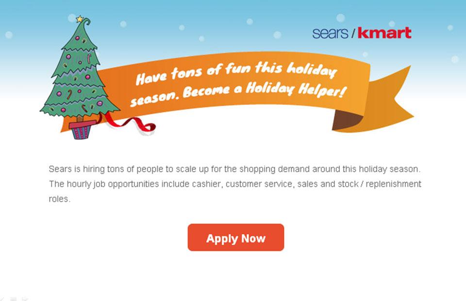 KMart Sears Retail Sales Associate Seasonal Part time Full – Stock Associate Job Description