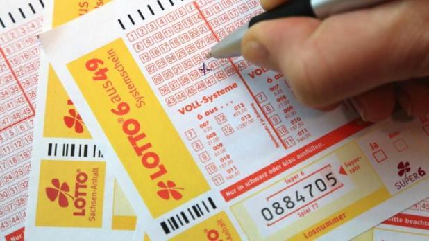 Bei Lotto am Mittwoch sind heute schon 7 Millionen Euro im Jackpot. (Foto)