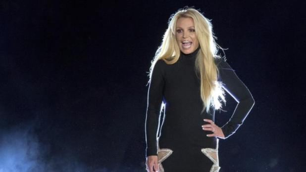 Britney Spears befreit ihren Körper. Bild: dpa
