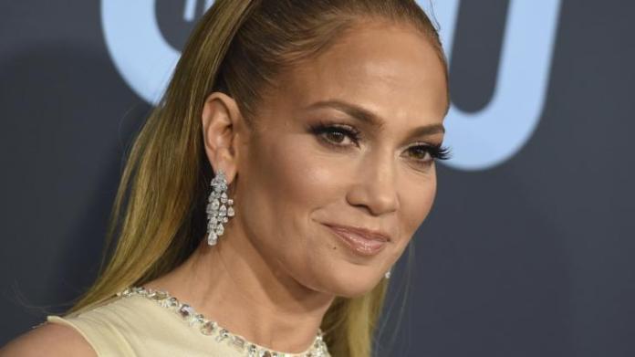 Jennifer Lopez has plenty of men visit on the shoulder.