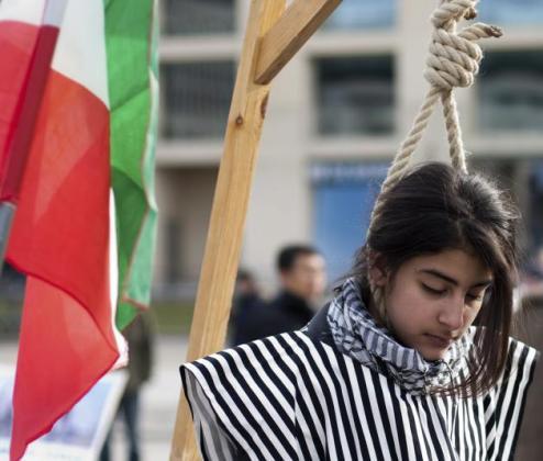 """Demonstration """"Solidarität mit dem Aufstand im Iran"""" (Foto)"""