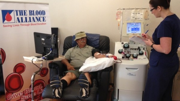 Binion Williams makes 490th blood donation, exceeds 100 ...