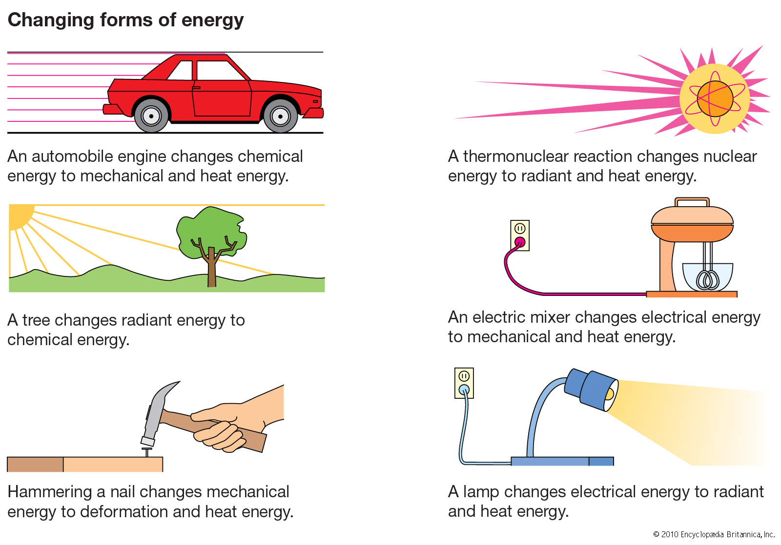 Examples Of Light Energy For Kids