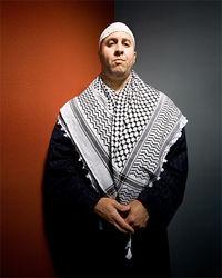 Craig Monteilh in Muslim-convert drag