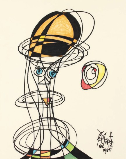Image result for Kurt Vonnegut painting