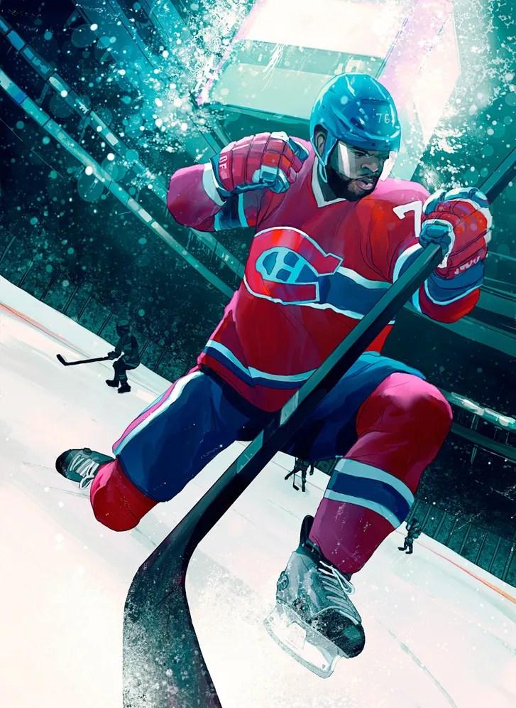 PK Subban Hockeys Ice Breaker The New Yorker