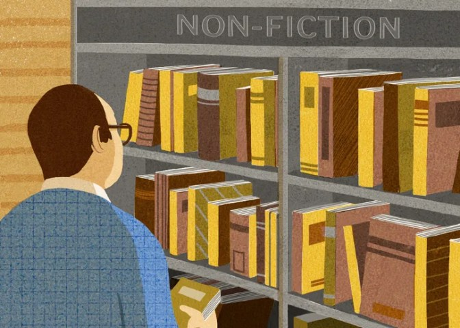 The National Book Awards Longlist  Nonfiction   The New Yorker Illustration by Boyoun Kim