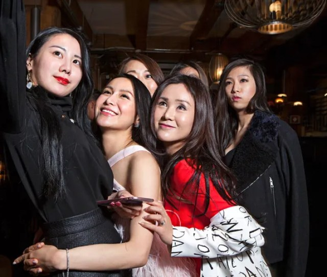 A Reality Show Ultra Rich Asian Girls Of Vancouver Chronicles The Lives Of Weymi Cho Left And A Group Of Friends