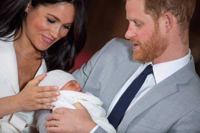 Harry and Meghan Introduce Their Son, a Royal Named Archie   The New Yorker