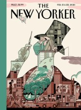 February 15 & 22, 2021 New Yorker cover