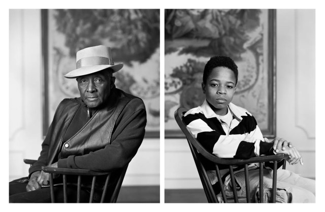 Fred Stewart II and Tyler Collins from the series The Birmingham Project by Dawoud Bey from 2012.