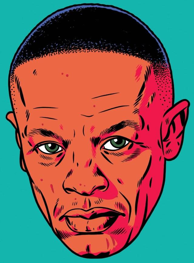 Illustration of Dr. Dre