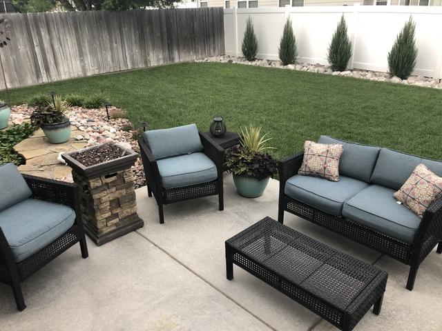 sold wicker patio furniture