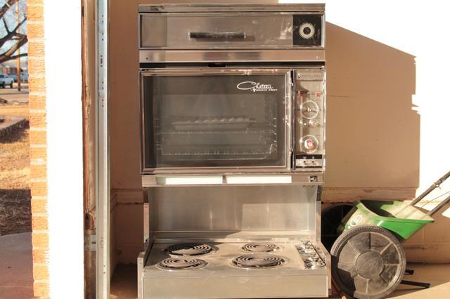 vintage 1960 s oven range range hood price reduced