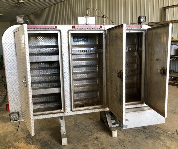 headache rack w hydraulic tank for wet kit