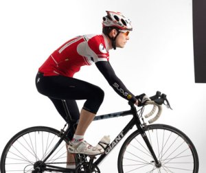 cykling sittande i backe