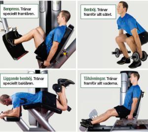 övningar styrketräning cyklister