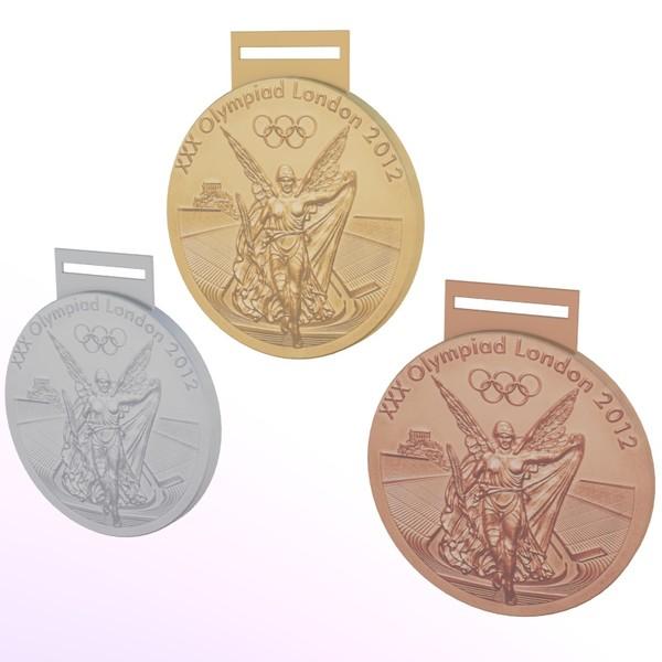 medaljer os london 2012