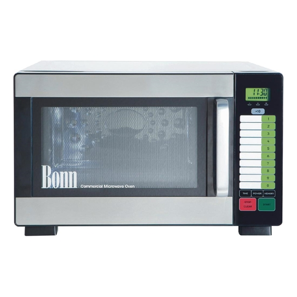 bonn performance range 1200w commercial microwave oven cm1042t