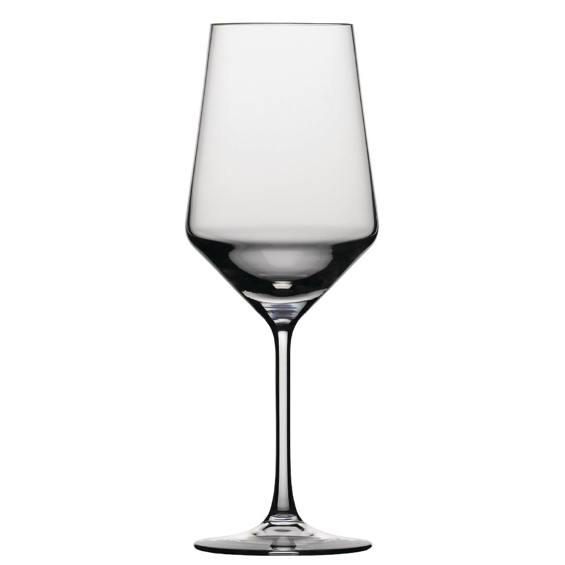 Schott Zwiesel Pure Crystal Red Wine Glasses 540ml Pack Of 6 Gd900 Buy Online At Nisbets