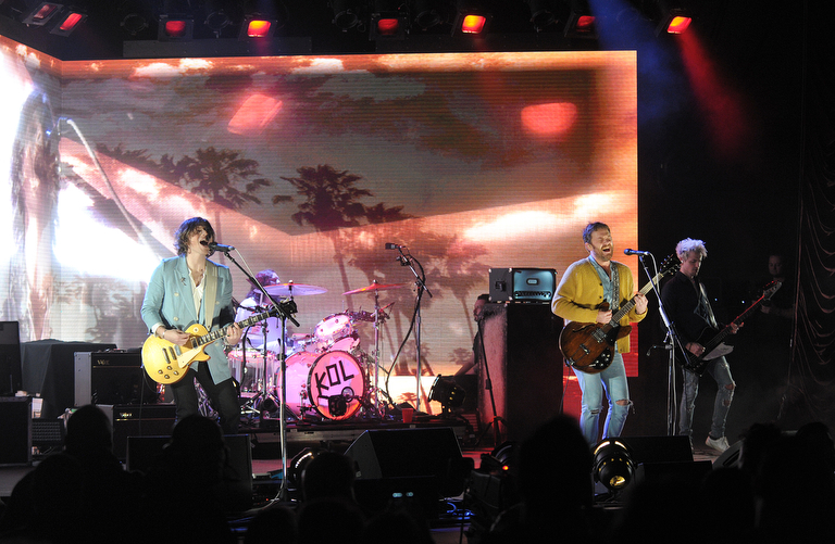 Kings of Leon performs May 20, 2017, at PNC Bank Arts Center in Holmdel, New Jersey. Deerhunter opened the show. (Matt Smith | For NJ Advance Media)