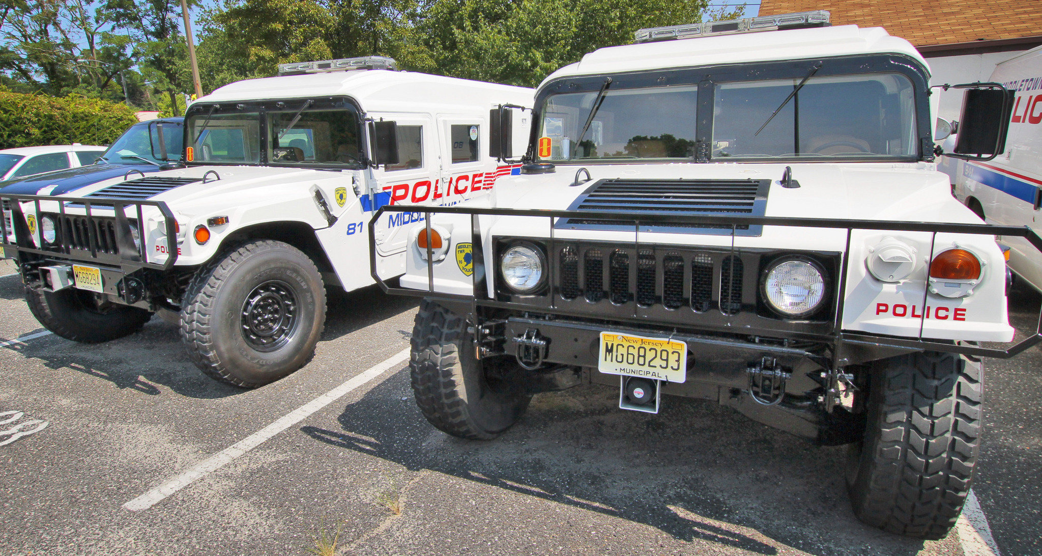 Police acquisition of surplus military gear tar ed by