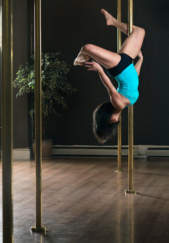 Does under-16 pole dancing class promote health and exercise or ...