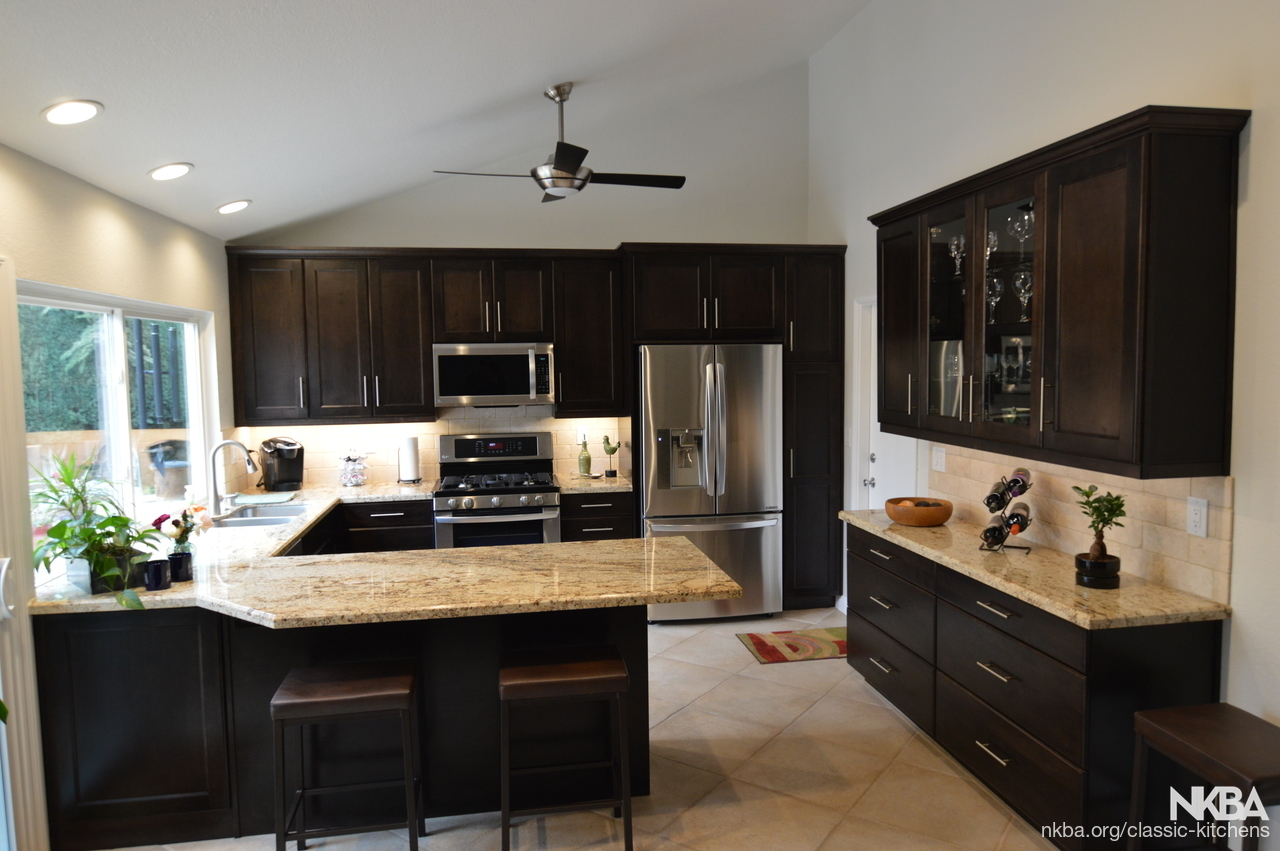 yorba linda, ca - traditional kitchen remodel - nkba