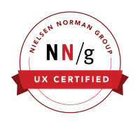UX Certification Badge from Nielsen Norman Group