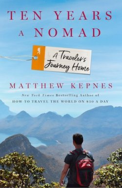 Ten years a nomad book cover
