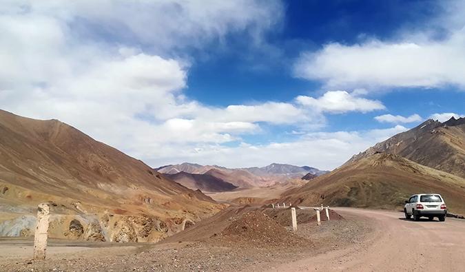road tripping in Tajikistan