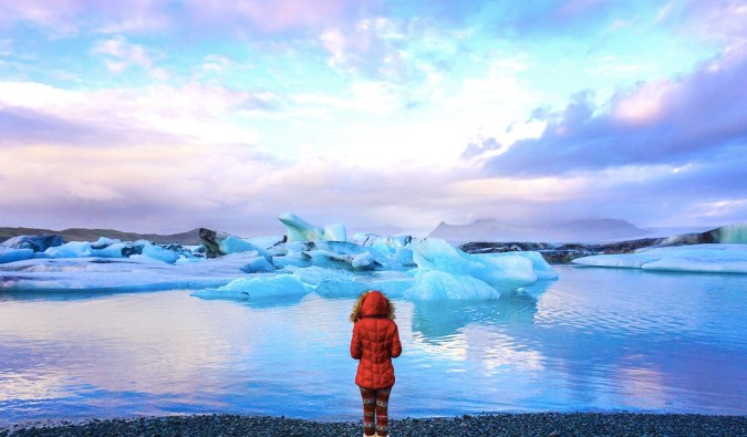 amazing glaciers in iceland