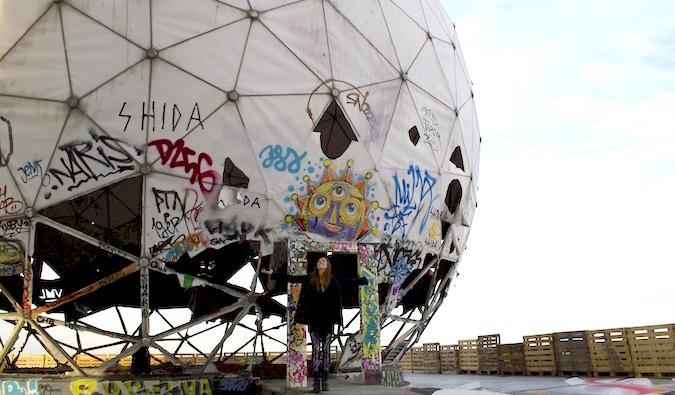 Gritty street art in Berlin, Germany