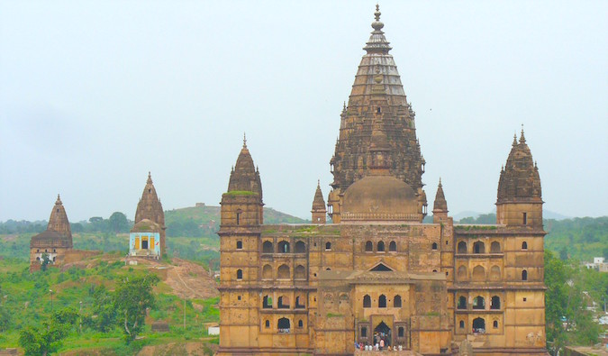 Medieval city of Orchha