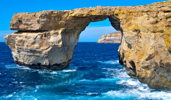 azure window at a beach in malta, photo by Berit Watkin (flickr: @ben124)