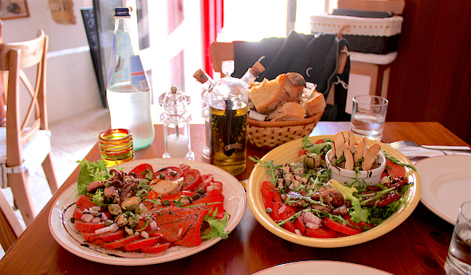good mediterranean food in Malta, photo by: (flickr: @)