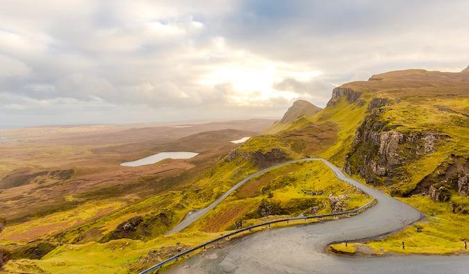 Quirang Views Isle of Skye by Laurence Norah